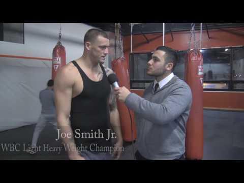 Light Heavyweight Champion Joe Smith Jr in Patchogue