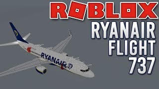 ROBLOX | Ryanair 737 Flight!