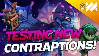 Testing NEW Contraptions! NEW PATCH! | Dota Underlords | Savjz