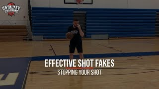Effective Shot Fakes - Stopping Your Shot