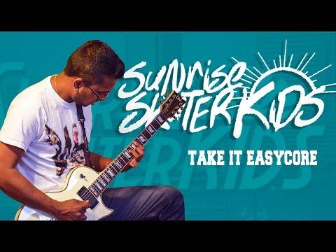 Jarrod Alonge -Sunrise Skater Kids - Take It Easycore. COVER by Jonathan Carette