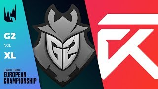 [Must Watch] G2 vs Excel - LEC 2019 Spring Split W2D1 - G2 Esports vs Excel Esports