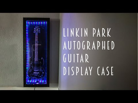 How To: DIY Guitar Display Case For An Autographed Linkin Park Guitar: Woodworking, Shou Sugi Ban