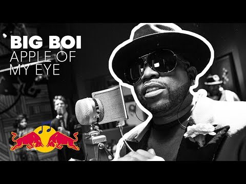 "Big Boi performs ""Apple of My Eye"" In The Red Bull Studio"