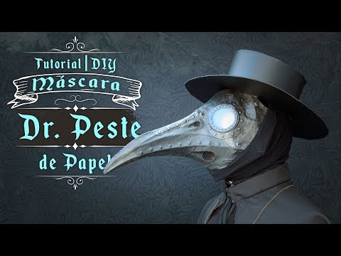 Máscara Dr. de la Peste Negra con Alambre y Papel / Tutorial / DIY / ¿Cómo se Hace?