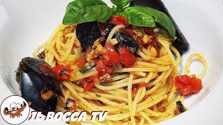 302 - Spaghetti cozze e pomodoro..per noi valgon più dell'oro! (pasta estiva di pesce facile veloce)