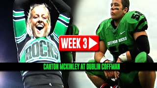 HS Football: Canton McKinley at Dublin Coffman [9/12/14]