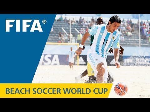 HIGHLIGHTS: Argentina V. Senegal - FIFA Beach Soccer World Cup 2015