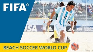 HIGHLIGHTS: Argentina v. Senegal - FIFA Beach Soccer World Cup 2015