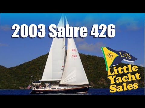 SOLD!!! 2003 Sabre 426 Sailboat for sale at Little Yacht Sales, Kemah Texas