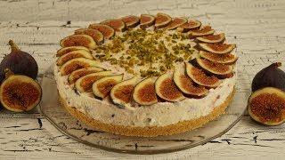 Pismeyen Incirli Cheesecake Tarifi (No Bake Käsekuchen mit Feigen)