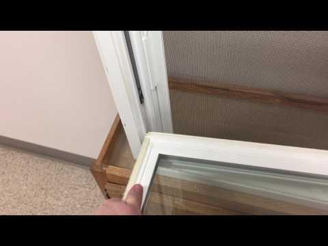 American Window - Bryce single hung sash removal/replace