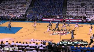 Zach Randolph & Mike Conley Full Combined Highlights at Thunder - 2014 Playoffs West R1G2