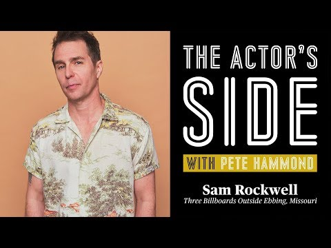 Sam Rockwell  The Actor's Side with Pete Hammond