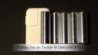 Apple Battery Charger: Unboxing and Demo