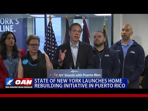 State of New York Launches Home Rebuilding Initiative in Puerto Rico