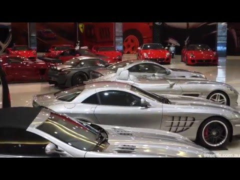 the most insane private car collection you have ever seen in adu
