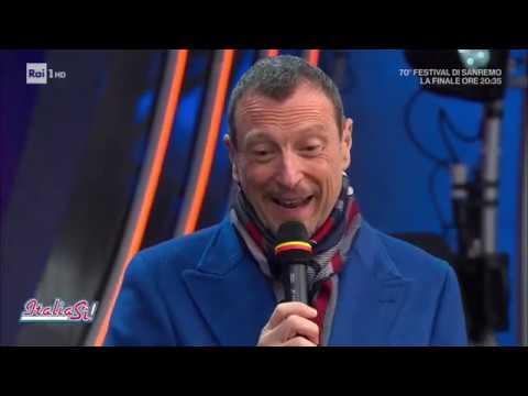 Morgan-Bugo: burrasca a Sanremo - ItaliaSì! 08/02/2020
