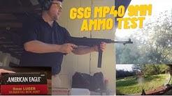 GSG MP40 Ammo Test