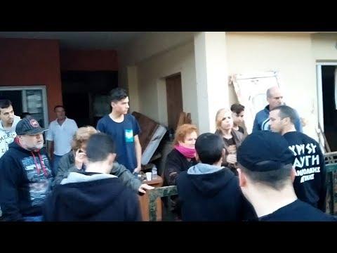 Μάνδρα: Η Χρυσή Αυγή στήριξε τους πλημμυροπαθείς