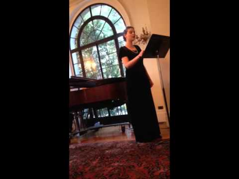 Teresa Carlomagno at the Van Vleck Mansion with the New Jersey Opera Company. December 5, 2015. http://njstateopera.org/