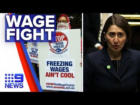 Coronavirus: Industrial Relations Commission to settle pay freeze battle | Nine News Australia