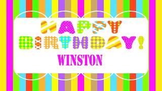 Winston   Wishes & Mensajes - Happy Birthday