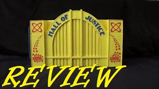 Toy Review: Hall Of Justice Playset Super Powers Collection Kenner 1985