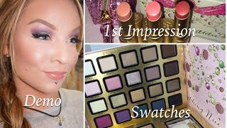 1st Impression : Too Faced Holiday 2014 : Everything Nice Makeup Collection, Under the Mistletoe Thumbnail