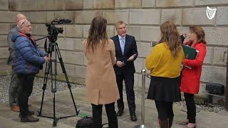 Minister Michael McGrath asked about 'doing nothing for renters' in Budget 2022