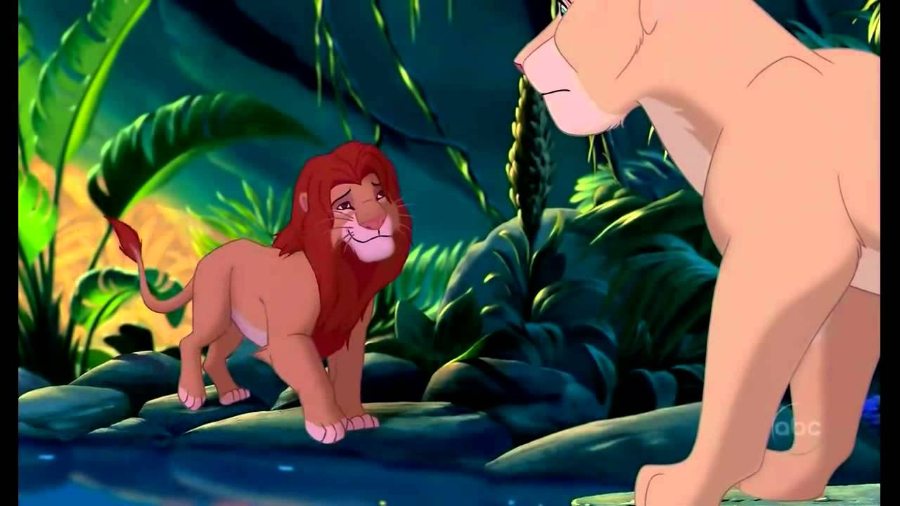 The Lion King Simba And Nala Can You Feel The Love Tonight Youtube