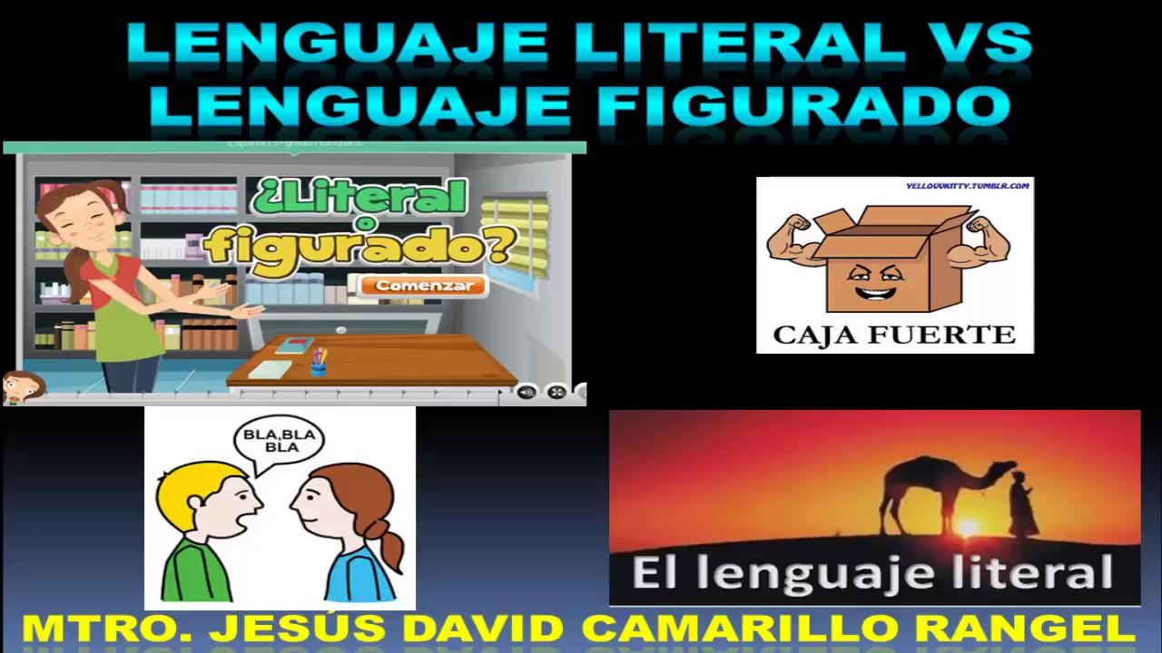 Lenguaje Literal Vs Lenguaje Figurado Ejemplos Y Ejercicio Práctico