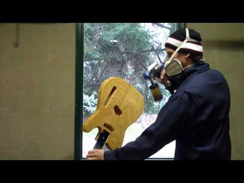 Spraying a Tobacco Burst