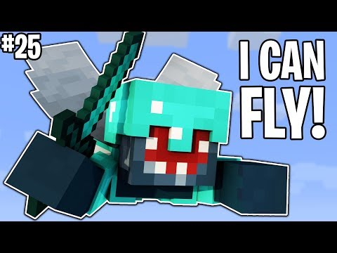 THE FLYING SQUID!! - FRIEND OR FOE! #25 | MINECRAFT