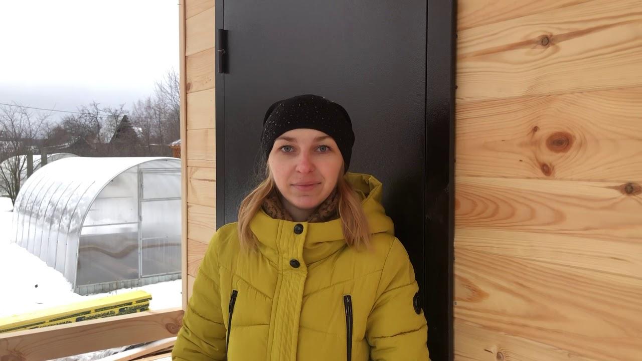 Дачный дом «Солнце-1» 6х6, во Владимирской области - Отзыв клиента