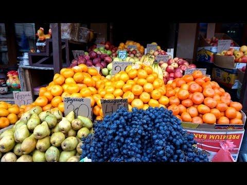 Цены на продукты питания на Новом рынке в Одессе