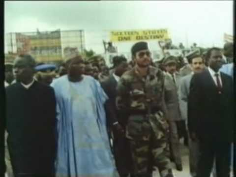 J.J. Rawlings At OAU Meeting In Togo - July 2000