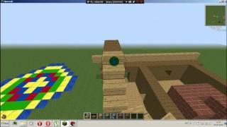 как построить баню в Minecraft(для этого нам нужно: 1)еловые доски! 2)плита из еловых досак! 3)дубовые ступеньки и полублоки дубовые и чёрная..., 2015-07-24T17:28:51.000Z)