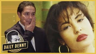 chris perez gets emotional at selena quintanillas walk of fame star unveiling daily denny