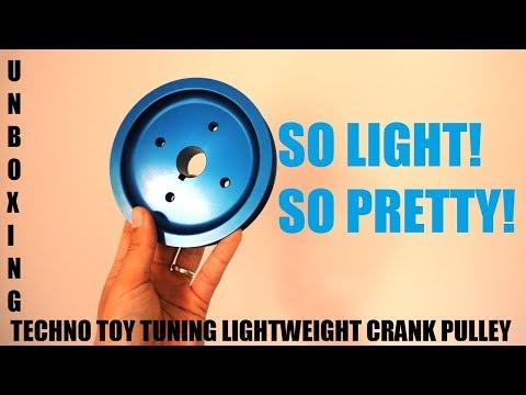 Lightweight crankshaft pulley unboxing - YouTube