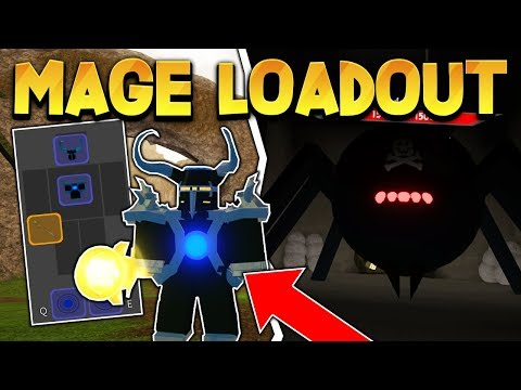 *LEGENDARY* MAGE STAFF & ARMOR LOADOUT (ROBLOX DUNGEON QUEST)