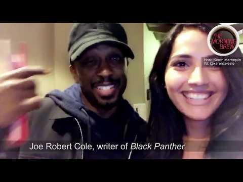 "Joe Robert Cole, writer of ""Black Panther"" Q&A"
