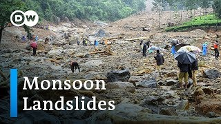 More than 140 dead in India monsoon floods | DW News