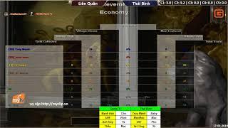 C3T1 | 4vs4 Random | Liên Quân vs Thái Bình | Ngày 17-02-2019