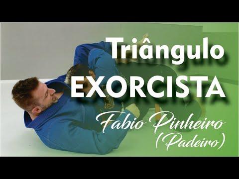 """Jiu Jitsu - Triângulo Exorcista - Fabio Pinheiro """"Padeiro"""" - BJJCLUB"""