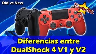 Diferencias entre DualShock 4 V1 y V2