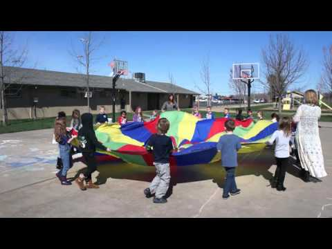 Faith Christian Elementary School - Parachute in PE