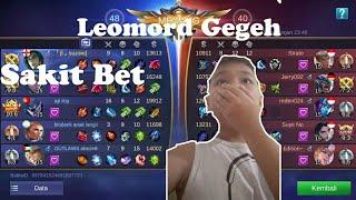 Main Kuda kudaan ama Om Leomord - Mobile Legends Bang Bang Indonesia #8
