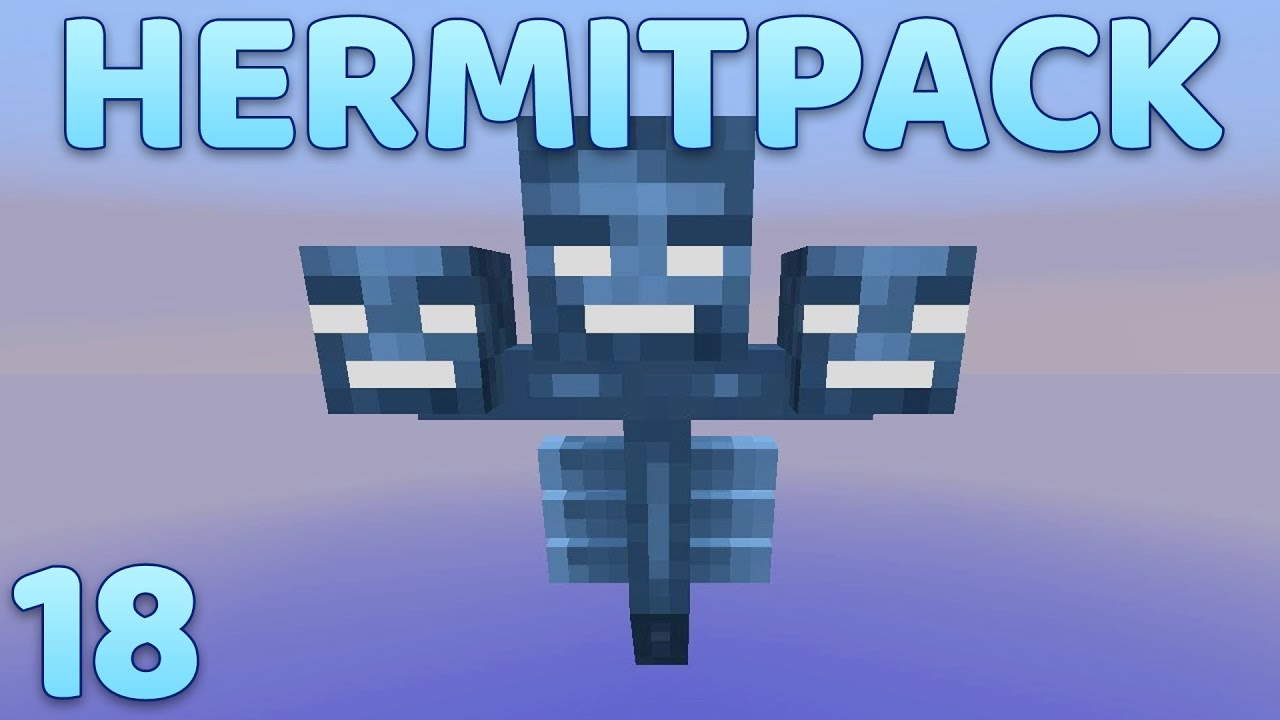 Hermitpack Modded Minecraft 18 Wither Boss Farm