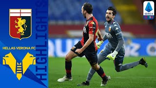 Genoa 2-2 Hellas Verona | Last minute Badelj goal earns Genoa draw at home | Serie A TIM